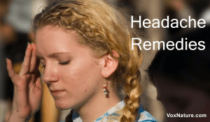 8 Natural Home Remedies for Headache