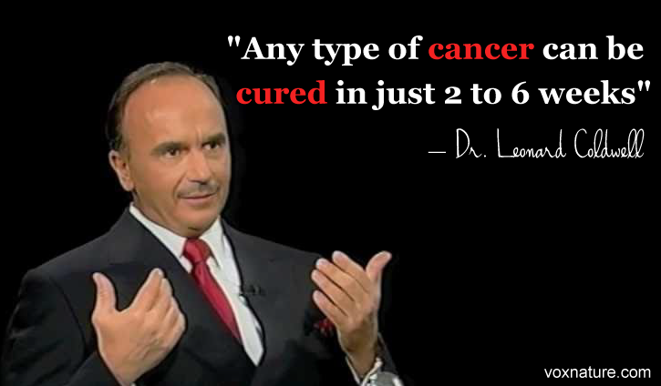 Doctor Claims that Any Cancer Can be Cured in Weeks