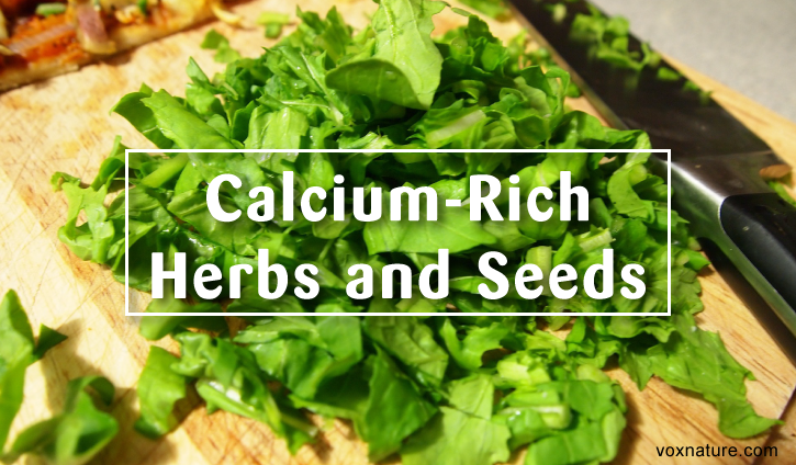Forget Dairy! 18 Herbs and Seeds High in Calcium