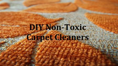 Non-Toxic Ways to Clean up Your Carpet and Rugs