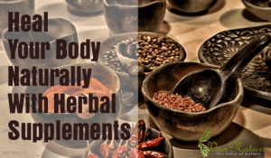 Heal Your Body Naturally With Herbal Supplements