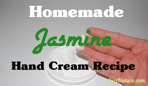 Homemade Jasmine Hand Cream Recipe