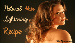 Natural Hair Lightening Recipe for Natural Highlights