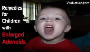 Remedies for Children with Enlarged Adenoids