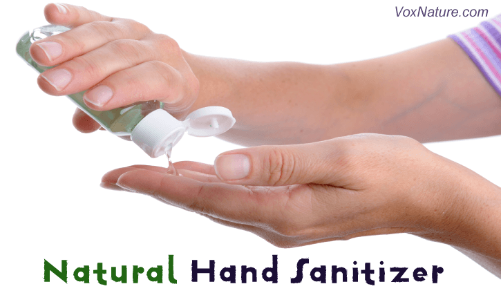 Everyone knows that dirty hands helps spread germs DIY Natural Hand Sanitizer