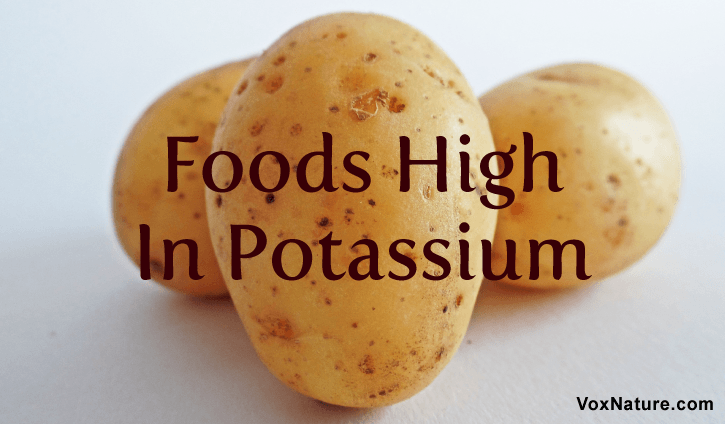 Potassium is a crucial element that is needed for our bodies to function properly 10 Foods that Are High In Potassium