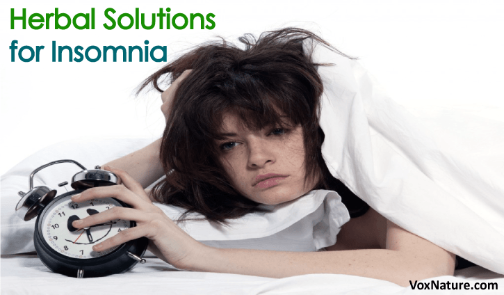 Insomnia is a sleep disorder in which one is lacking healthful 9 Herbal Solutions for Insomnia