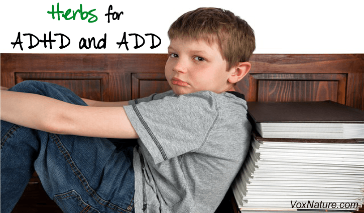 ADD and ADHD can be very difficult to understand Herbal Treatments for ADHD and ADD
