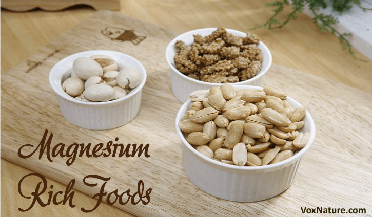 Magnesium Rich Foods to Add to Your Diet 8 Magnesium Rich Foods to Add to Your Diet