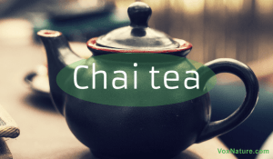 Drinking Chai Tea for Good Health