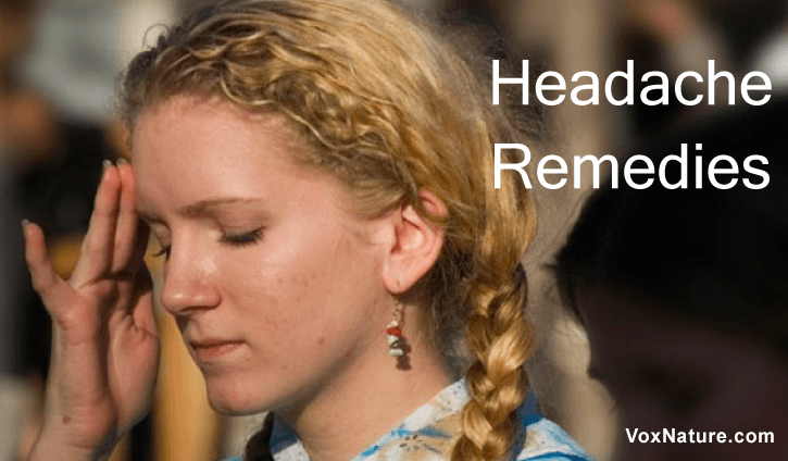 Usually most people reach for aspirin the moment they feel a headache coming on 8 Natural Home Remedies for Headache