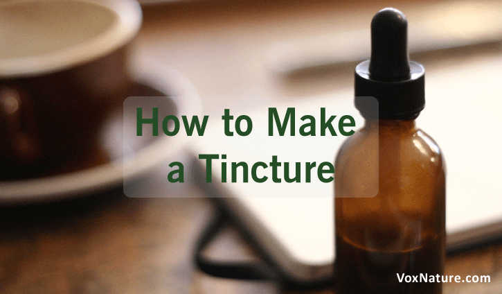 you may know what a tincture is technically The Art of Tincture Making