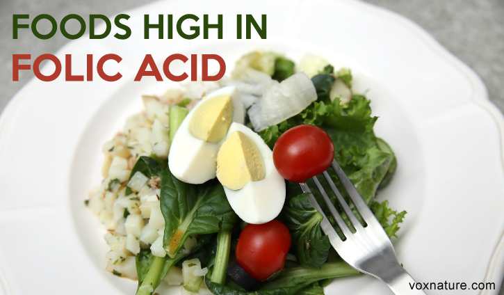 Folic acid is an important part of every diet 20 Foods With High Levels of Folic Acid