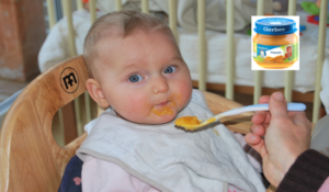 Never Give Your Baby Gerber Food