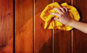 DIY Non-Toxic Wood Furniture Polish and Cleaner