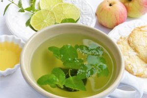 lime tea herbs